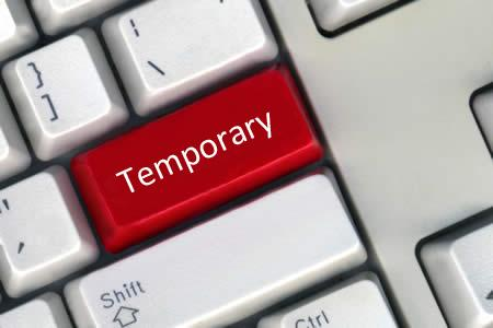What are temporary orders in Massachusetts?