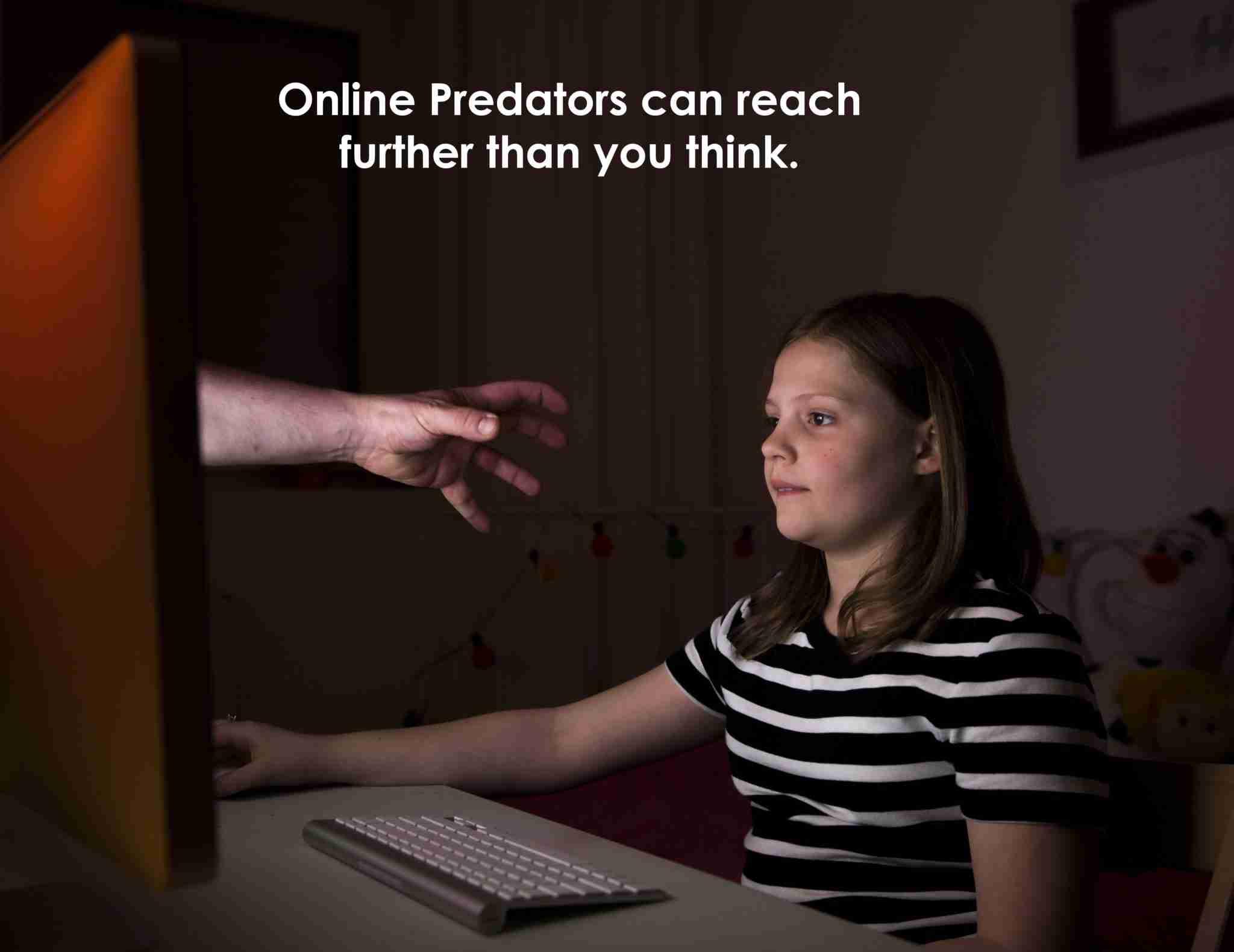 Predators among the masses